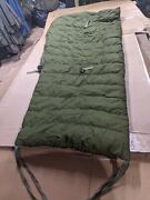 Canadian Army 5 Pieces Cold Weather Arctic Sleeping Bag System Down Filled