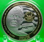 Jfk - Head Of State Commemorative Coin Proof Value 99.95
