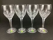 Waterford Ryan Four 4 7 3/4 Wine Glasses Goblets New With Stickers