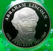 Abraham Lincoln Dollar Trial Commemorative Coin Proof Value 99.95