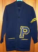 Extremely Rare Old Vintage Kee Wofford Varsity Letterman Sweater Track Football