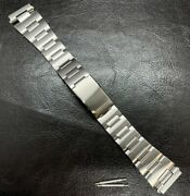 Bracelet For Seiko Band 6105-8000 6105-8009 Stainless W End Link Diver Bar19mm