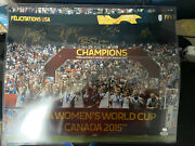 2015 Womens World Cup Autographed 16x20 Photo 5 Sigs Lloyd Boxx Psa Certified