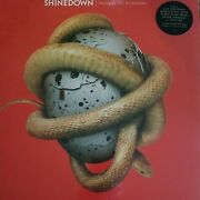 Shinedown Threat To Survival Limited Edition Red Vinyl Includes Cd Copy