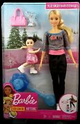Barbie Ice-skating Coach And Student Doll With Turning Mechanism