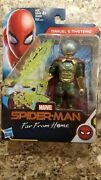 Marvel Studios Spider-man Spiderman Far From Home Mysterio 6 Inch Scale Figure
