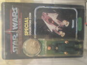 Rare Unpunched Vintage Kenner Star Wars Afa Y85 Power Of The Force A Wing Pilot