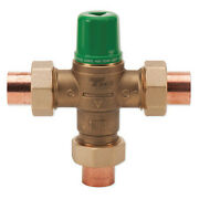 Taco 5003-c3 Mixing Valve, Forged Brass, 1 To 20 Gpm