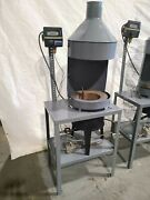 160 Lb. Melting Furnace Natural Gas Or Propane Max Temp 900f For Fishing Lead