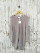 American Vintage Lubbork Sweater Dress In Silver - M / L - Was Selling At Yoox