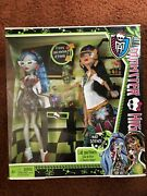Monster High Mad Science Cleo De Nile And Ghoulia Yelps 2pk Doll Set Nrfbretired