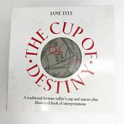 The Cup Of Destiny Tea Leaf Fortune Telling Jane Lyle Tasseography Kit New
