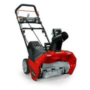 Xd 20 In. 82-volt Lithium-ion Single-stage Cordless Electric Snow Blower And