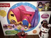 Fisher-price Snow White Cottage Musical Little People New