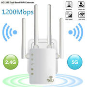 Wifi Range Extender 1200mbps Dual Ethernet Port Wireless Repeater Signal Booster