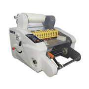 Auto Hot And Cold Both Sides Roll Laminator Max. Width 13-3/4 A3 350a
