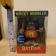Rat Fink Funko Wacky Wobbler Limited Edition Figure Doll 1 Out Of 1000 Made
