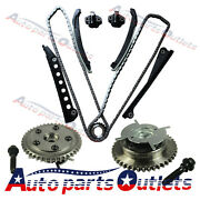 Phaser 04-08 Ford F-150 F-250 Lincoln 5.4 Triton 3-valve Timing Chain Kit Cam