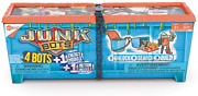 Hexbug Junkbots - Industrial Dumpster Assortment Kit Surprise Toys In Every Box
