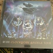 Rush Clockwork Angels Tour Deluxe Limited Edition Package Numbered 1589/5000