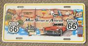 2015 Route 66 Main Street Of America Booster License Plate