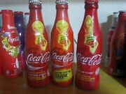3 Coca Cola Limited Edition Glass Bottles Fifa World Cup 2006 Germany Very Rare