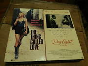 The Thing Called Love + Dogfight Vhs X 2 River Phoenix Double Feature