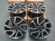 X4 Genuine Land Rover Discovery 5 22andrdquo Style 5025 Diamond Turned Alloy Wheel Set