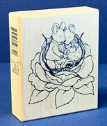 Rare Sugar And Mice Love 1999 Psx G-2674 Rubber Stamp Moose Creek Collectables