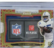 2015 Topps Supreme Phillip Dorsett 1/1 Jumbo Rookie Tag Patch Colts