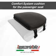 Comfort Rear Seat Cushion For Motorcycles In Memory Foam By Tappezzeria Italia