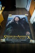 Lord Of The Rings Style B Vinyl Banner 4x6 Ft Movie Poster Original 2003
