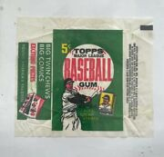 1962 Topps 5 Cent Wax Wrapper Bazooka Bubble Gum Variation Original Owner Opened