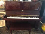 Schafer And Sons Upright Piano. Model Vs53. Serial 147207