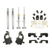 Belltech Lowering Kit W/shocks For 15-2020 Ford F150 2wd 1-5 Front 6 Rear Drop
