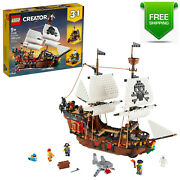 Brand New Lego Creator 3in1 Pirate Ship 31109 1,260 Pieces