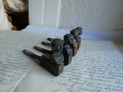 French 4 Of Cast Iron Shutter Stoppers Authentic Hardware Vintage