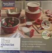 Better Home And Garden 23 Pieces Prep And Store Kitchen Set