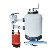 1100 Gph Fish Pond Permanent Filters System With Uv Light Mit