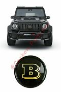 W464 W463a Carbon Grille Badge Emblem Gold Brabus Style Mercedes G-class 2019up