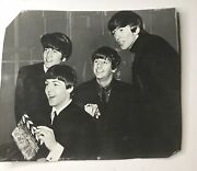 Beatles Original Photo Proscenium Dick Lester See Pictures For Details 9 X 7 In