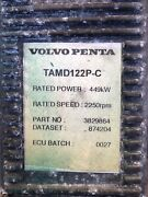 Volvo Penta 122p-c Complete Wiring Harness With Ecu