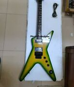 Custom Electric Guitar 6 Strings Dimebag Darrell Signature Dime Slime Replica