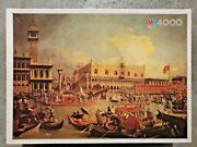 5000 Piece Puzzle And039veneziaand039 By Canaletto 1986 - Vintage - Very Rare