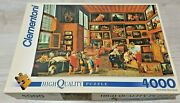 4000 Piece Clementoni Puzzle And039the Collectionand039 Jordaens Very Rare - Vintage