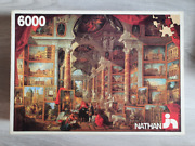 6000 Piece Puzzle And039picture Galleryand039 By Giovanni Paolo Pannini - Very Rare