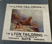 R Atkinson Fox Print - Lion And Cubs - Safely Guarded -large 31 X 26 Calendar Top