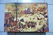 4000 Piece Puzzle And039the Census Of Bethlehemand039 By Pieter Brueghel The Elder -rare