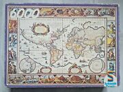 6000 Piece Puzzle Schmidt And039ancient World Map 1635and039 By Willem Blaeu - Very Rare