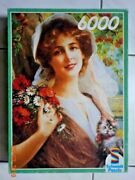 6000 Piece Puzzle And039girland039 By Emilie Vernonand039 1987 - Schmidt - New - Very Rare